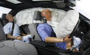 Aktivované airbagy