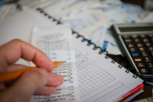 Výpočet na kalkulačke
